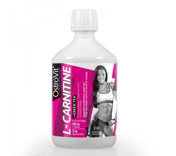 L-Carnitine + Green Tea (Ostrovit 500 мл.)